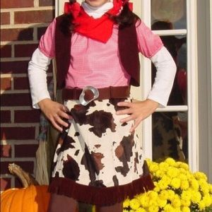 Other - Cowgirl Costume Size M